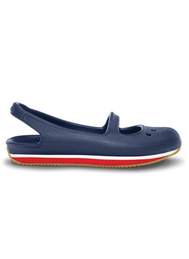 Crocs Retro Mary Jane Girls' C Sandalet Lacivert
